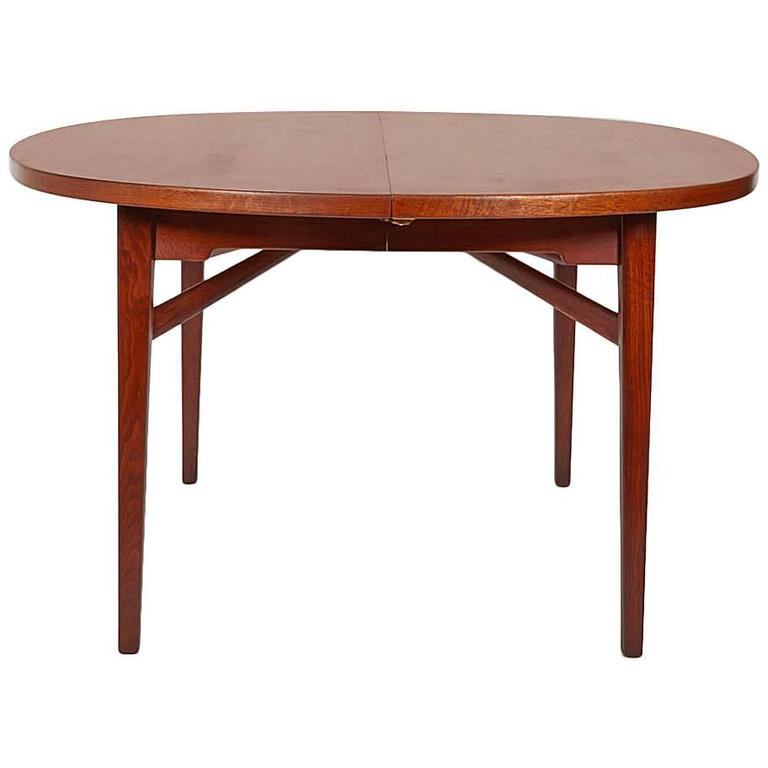 Expandable Dining Table By Jens Risom At 1stdibs