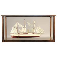 "Steam Yacht Model of the ""Harvard"""