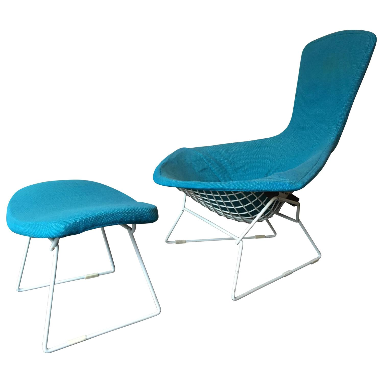 Harry Bertoia High Back Diamond Bird Chair Knoll 1952