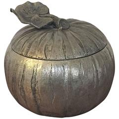 Pumpkin Ice Bucket by Mauro Manetti, Italy, 1950