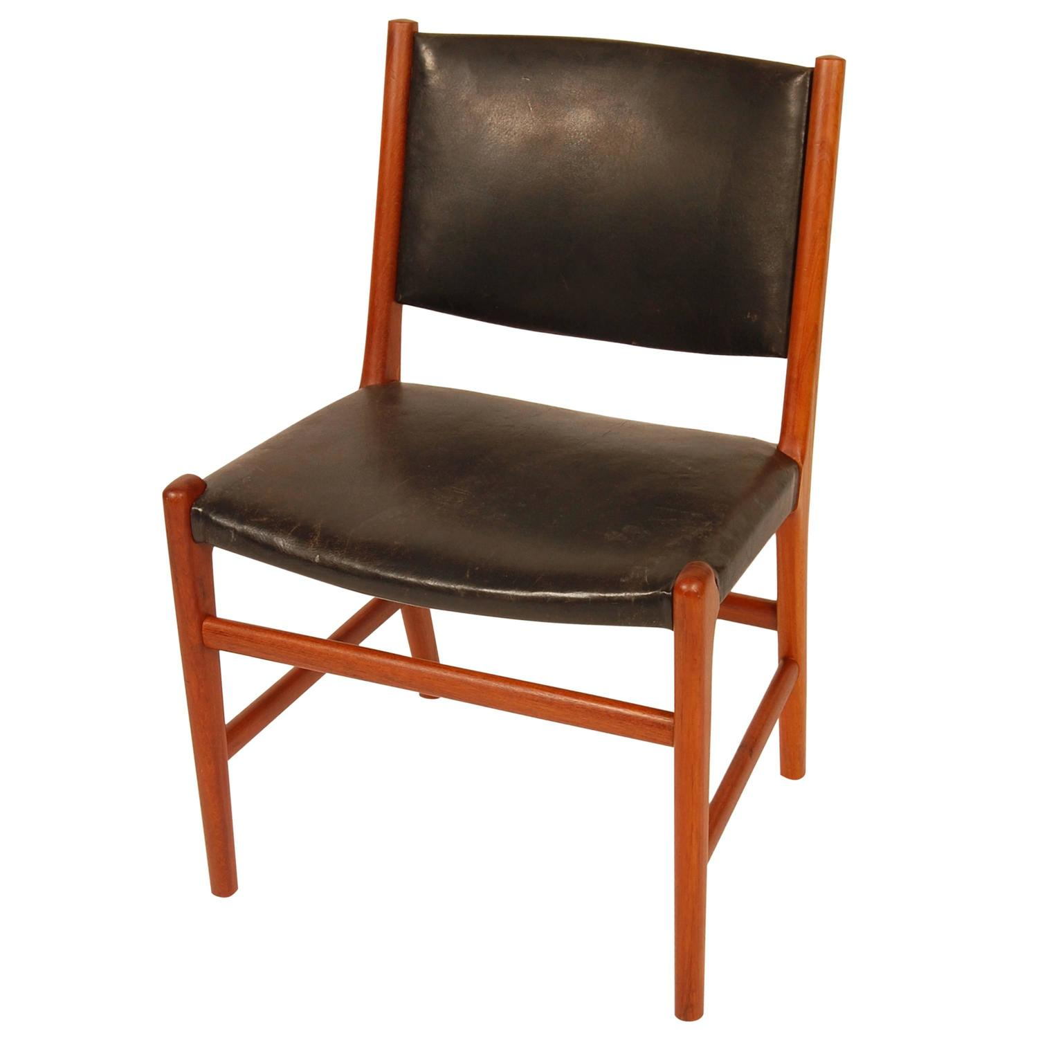 Hans Wegner For Johannes Hansen Side Chair At 1stdibs