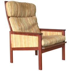 """Capella"" High Back Danish Lounge Club Chair"