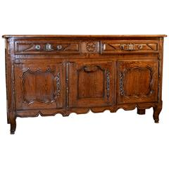 18th Century Country French Petite Buffet