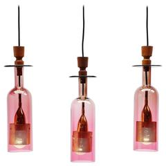 Nanny Still Style Pendant Lamps, Finland, 1960