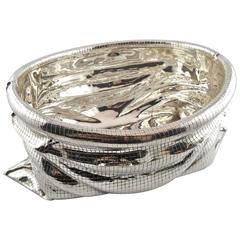 "Jona Sterling Silver ""Sacco"" Fruit Basket"