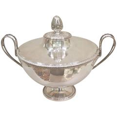 French Empire Plated Soup Tureen