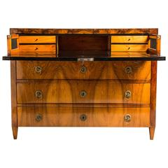 Impressive Biedermeier Writing Commode or Conversion Desk