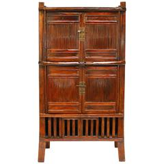 Chinese Bamboo Kitchen Cabinet