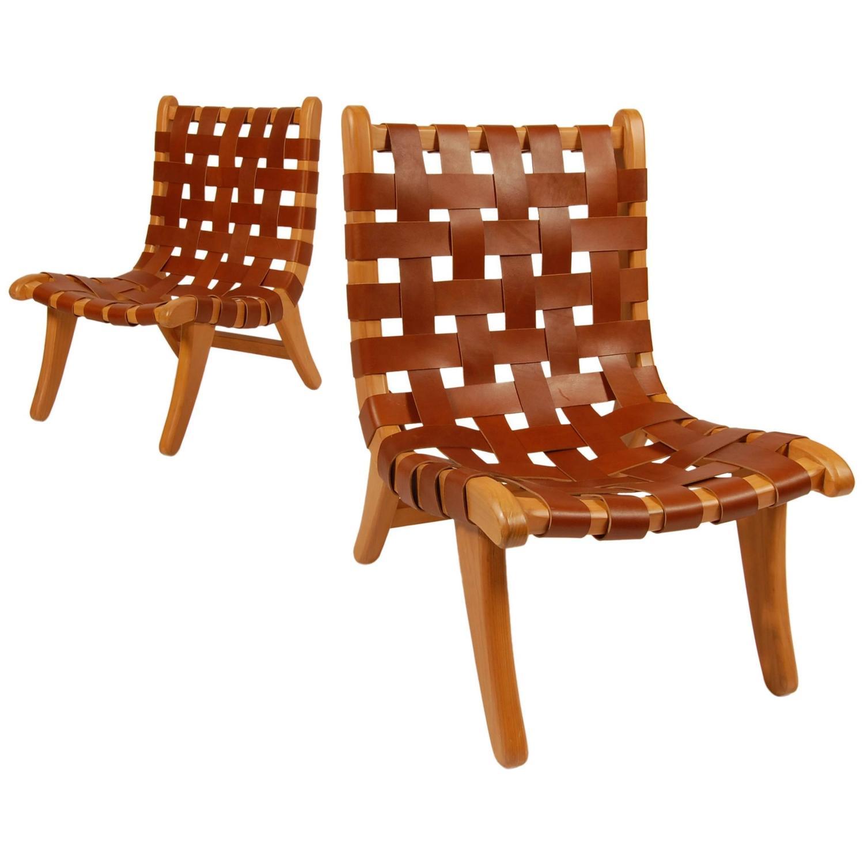 Bauhaus Trained Michael Van Beuren San Miguelito Lounge Chairs At  # Muebles Van Beuren