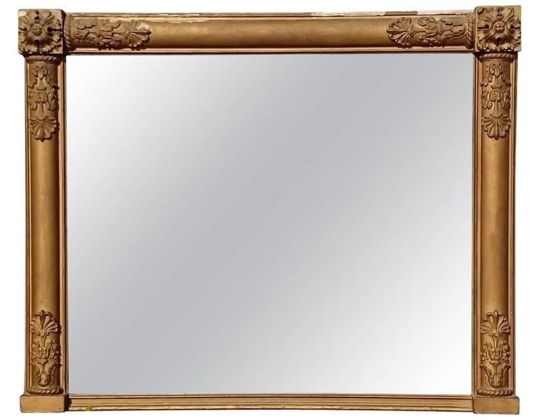 George IV Period Overmantel Mirror