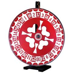Hand-Painted Wheel of Fortune