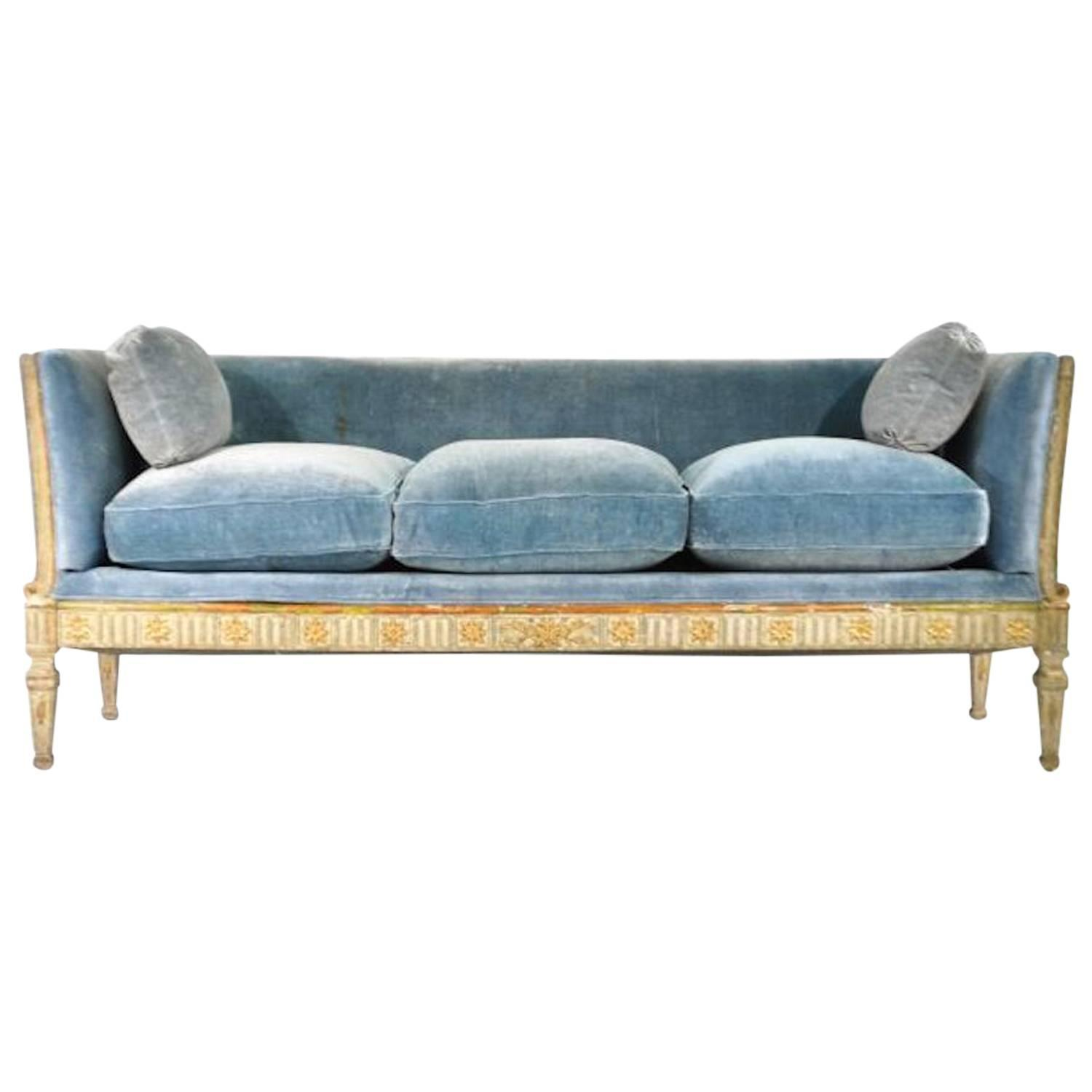 early 19th century swedish gustavian sofa at 1stdibs