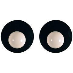 Incredible Pair of Extra-Large Plastic POP Style Sconces
