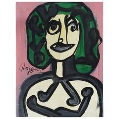 Modern Portrait of a Woman by Keil