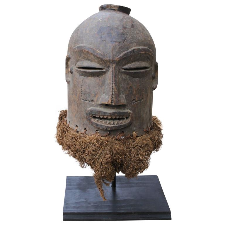 Antique Liberian Ceremonial Helmet Mask At 1stdibs