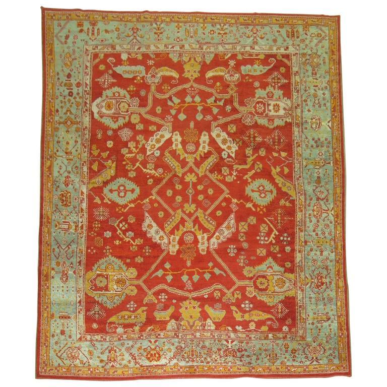 Angora Antique Oushak Rug