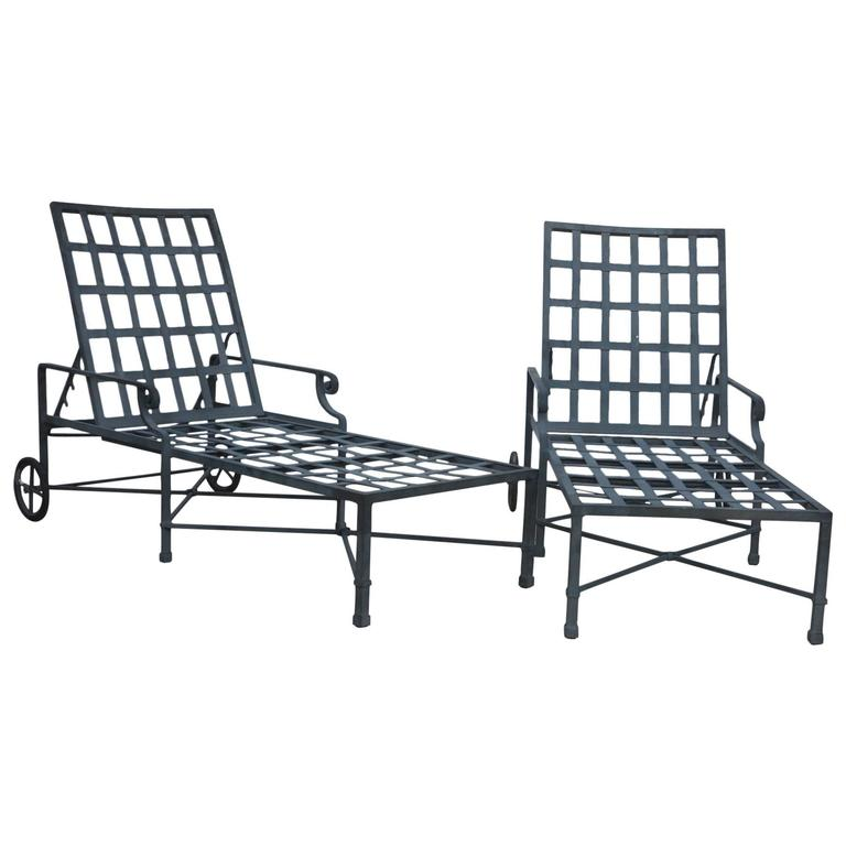 Brown Jordan Venetian Collection Lounge Chairs at 1stdibs