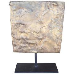 Harry Bertoia Untitled Gilded Bronze Sculpture on Stand Provenance