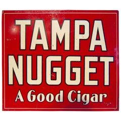 Tampa Nugget Cigar Sign