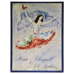 Marc Chagall, The Ballet, Tudor, First Edition 1969 with Original Lithograph