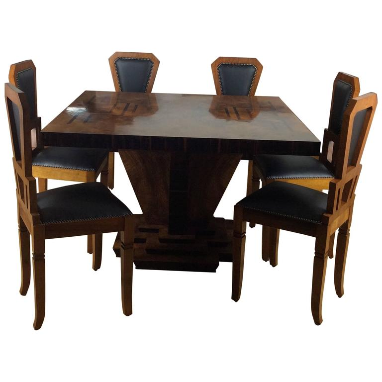 Osvaldo borsani art deco dining suite for sale at 1stdibs for Dining table harry styles