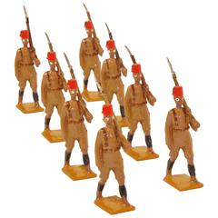 King's African Rifles, Vintage Toy Soldiers by W. Britain Ltd