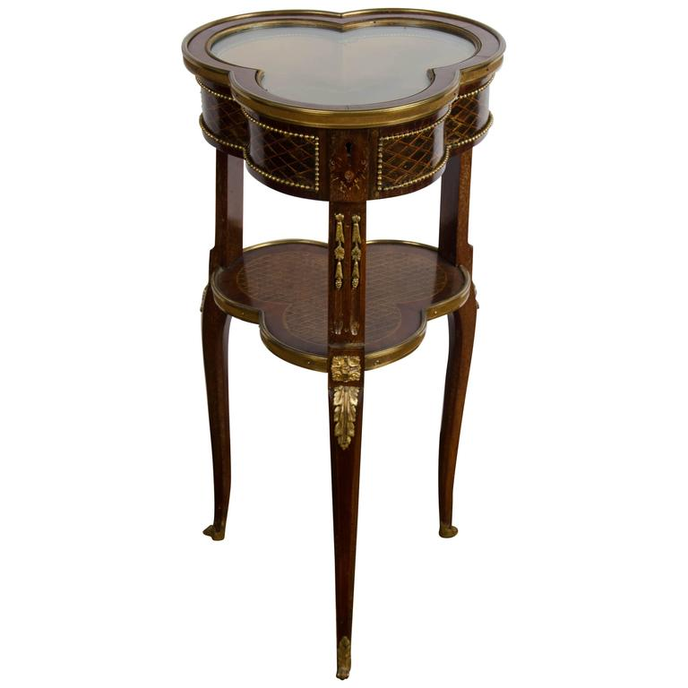 19th Century French Bijouterie Table