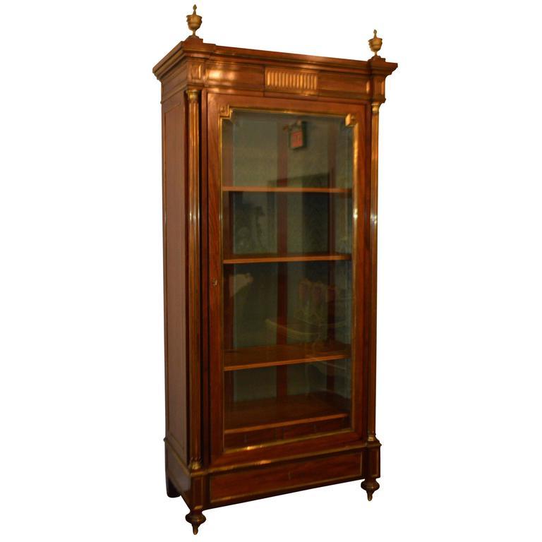 19th Century Directoire Style Mahogany Bookcase