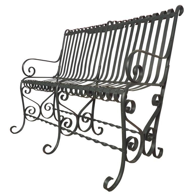 Beautiful Vintage Park Bench