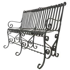 Beautiful Vintage Park Bench
