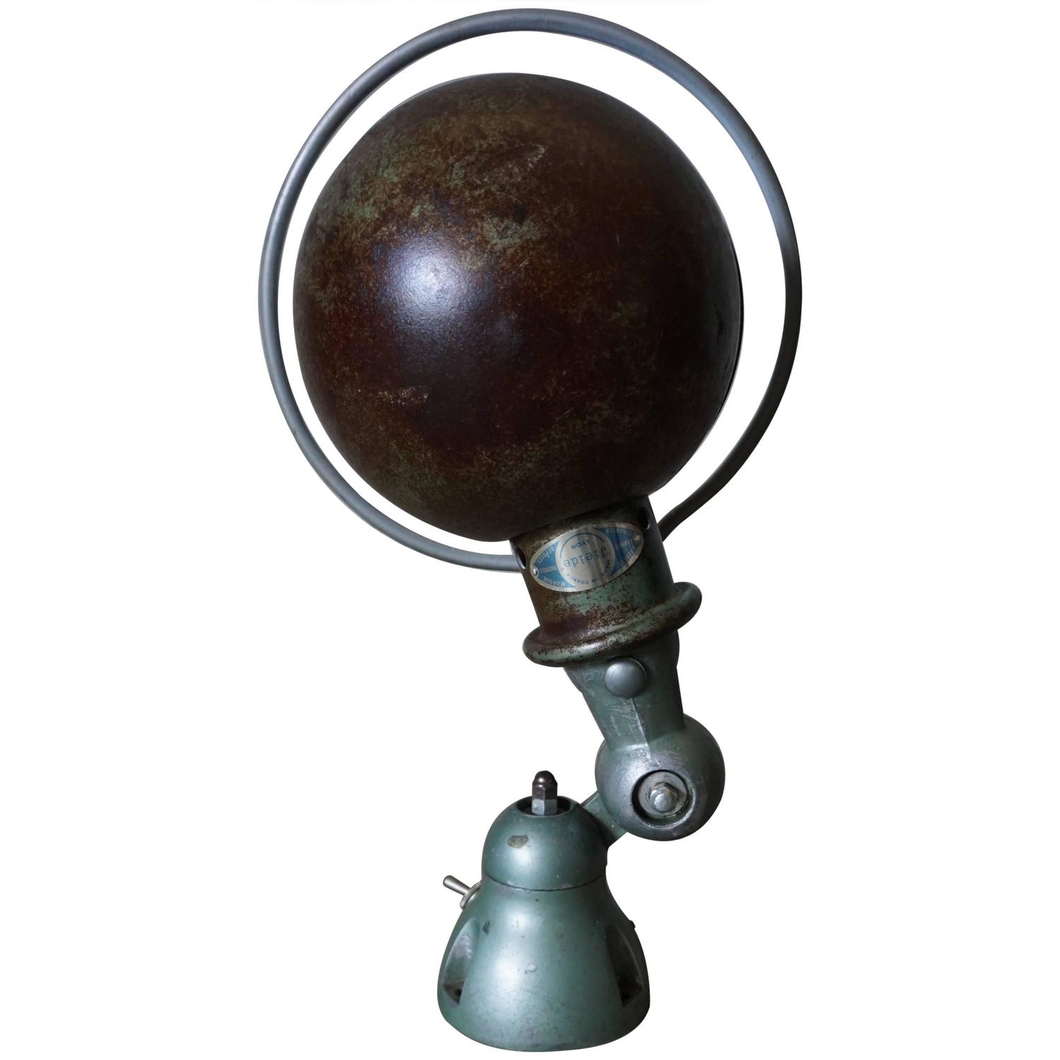 French Industrial Wall Lights : French Industrial Wall Light by Jean-Louis Domecq for Jielde, 1950s at 1stdibs