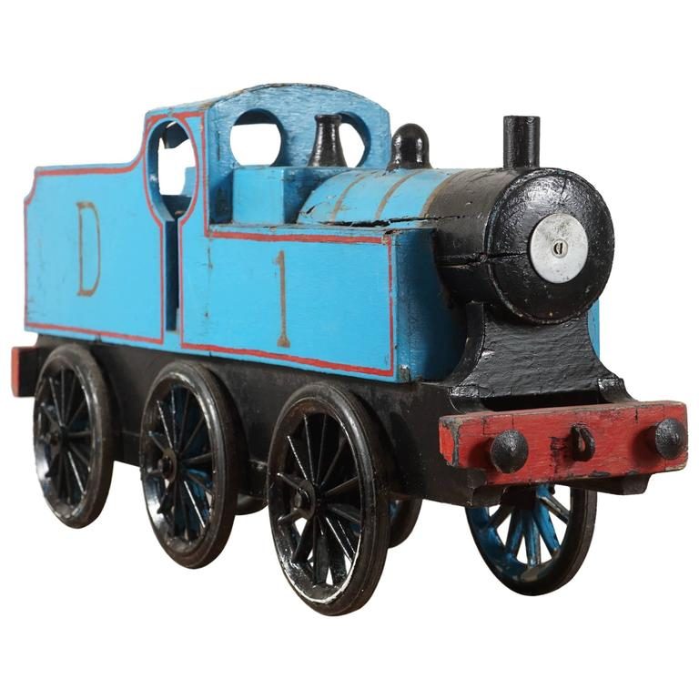 Blue Toy Train For Sale