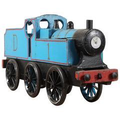 Blue Toy Train