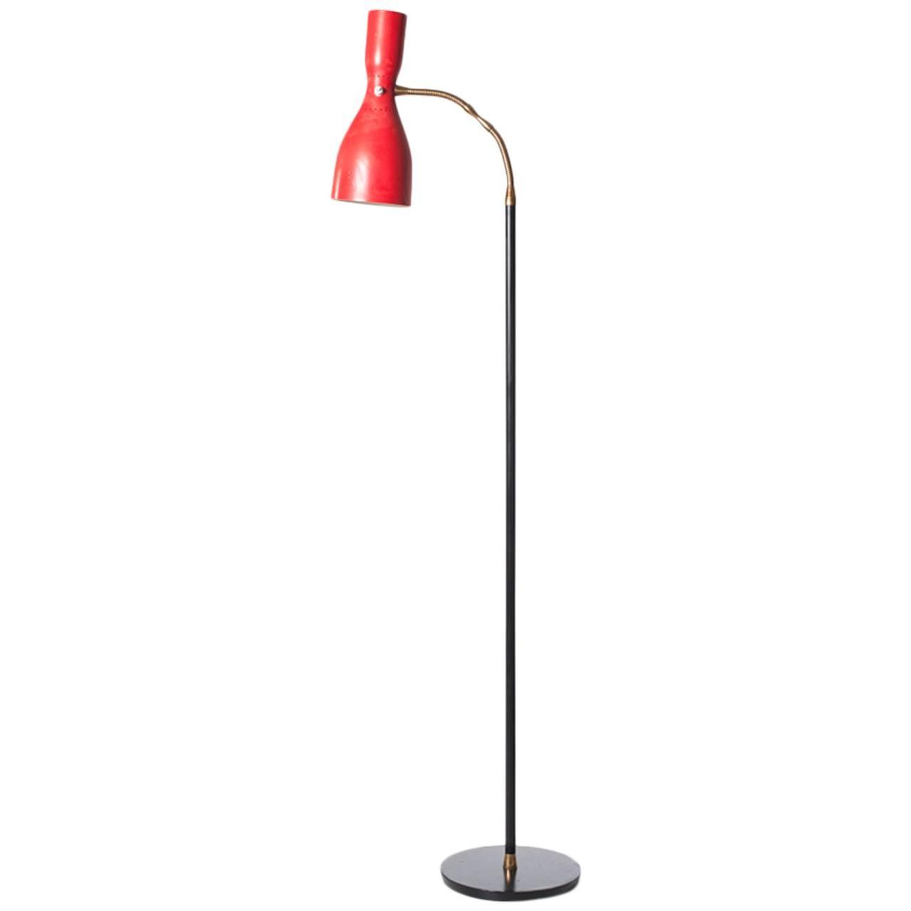 floor lamp 1950s at 1stdibs