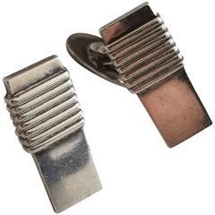 Georg Jensen Sterling Silver Cuff Links