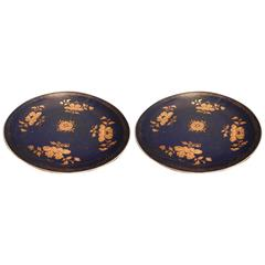 Pair of Large Chinese Plates