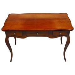 Louis XV Style Mahogany Bureau Plat