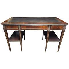 19th Century Russian Neoclassical Mahogany Desk
