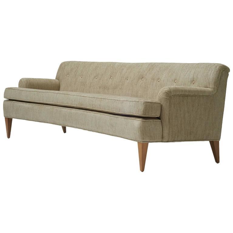 Edward Wormley for Dunbar, Curved Back Sofa