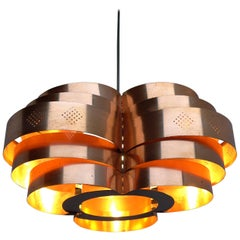 Werner Shou pendant lamp for Coronell, mid-century 1960's