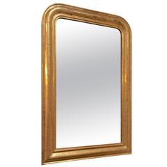 Louis Phillipe Gold Leaf Mirror