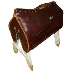 Leather Saddle Stand