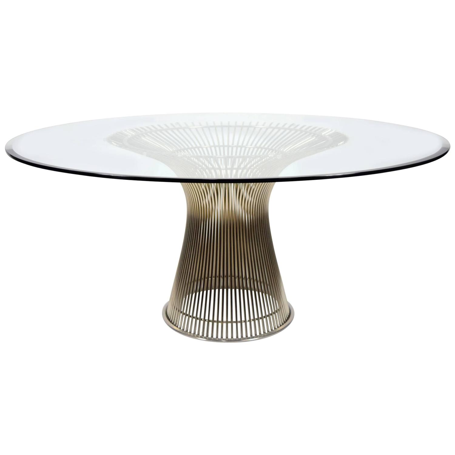warren platner for knoll dining table at 1stdibs