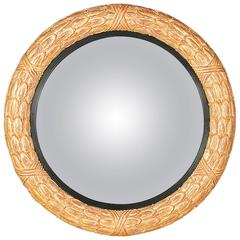 Laurel Convex Mirror in the Regency manner