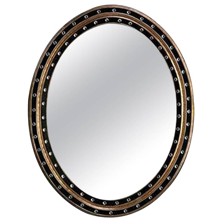 Irish Oval Mirror
