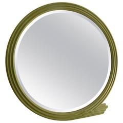 Large 1980s Jay Spectre Mirror for Century Furniture