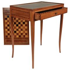 French Transition Period, circa 1765 Reversible Desk and Game Table