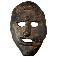 19th Century Primitive Shamanic Mask, Nepal