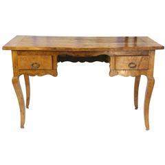 Mid-19th Century French Burled Elm Desk