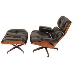 Early 1960s Eames Lounge & Ottoman